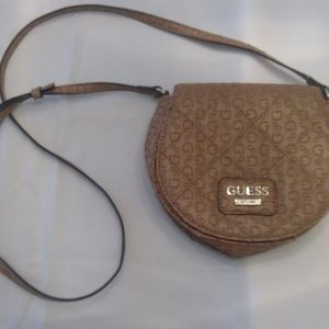 Mini Tan Guess Purse